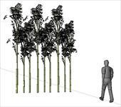 欧式别墅栏杆sketchup模型图片