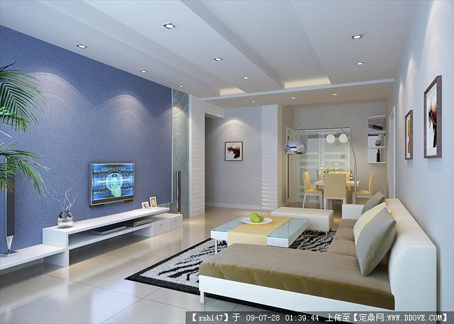 室内装饰设计精品效果图(inter