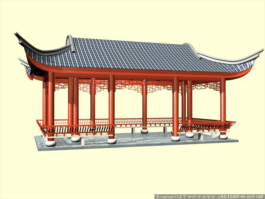 古建筑模型欣赏_古建筑模型相关图片内容