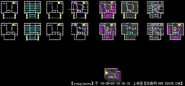 幼儿园设计方案全套cad施工图纸的下载地址,室内项目