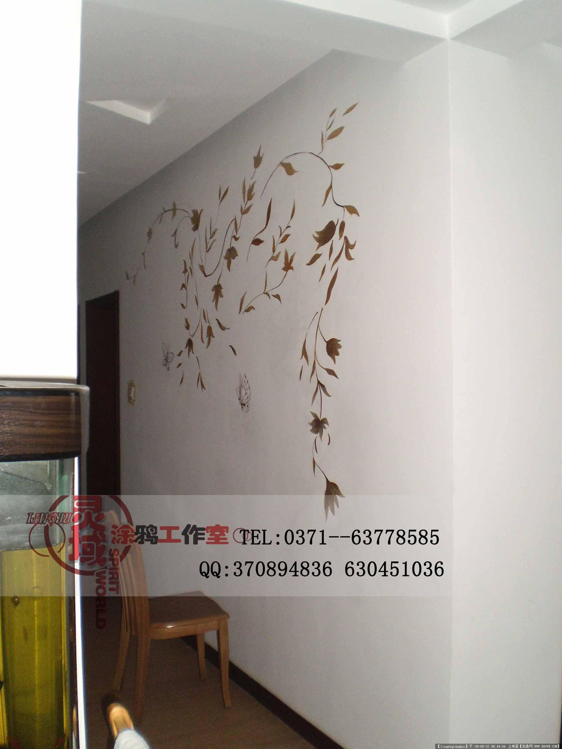 灵域墙体彩绘案例的图片浏览,室内实景照片,其他空间