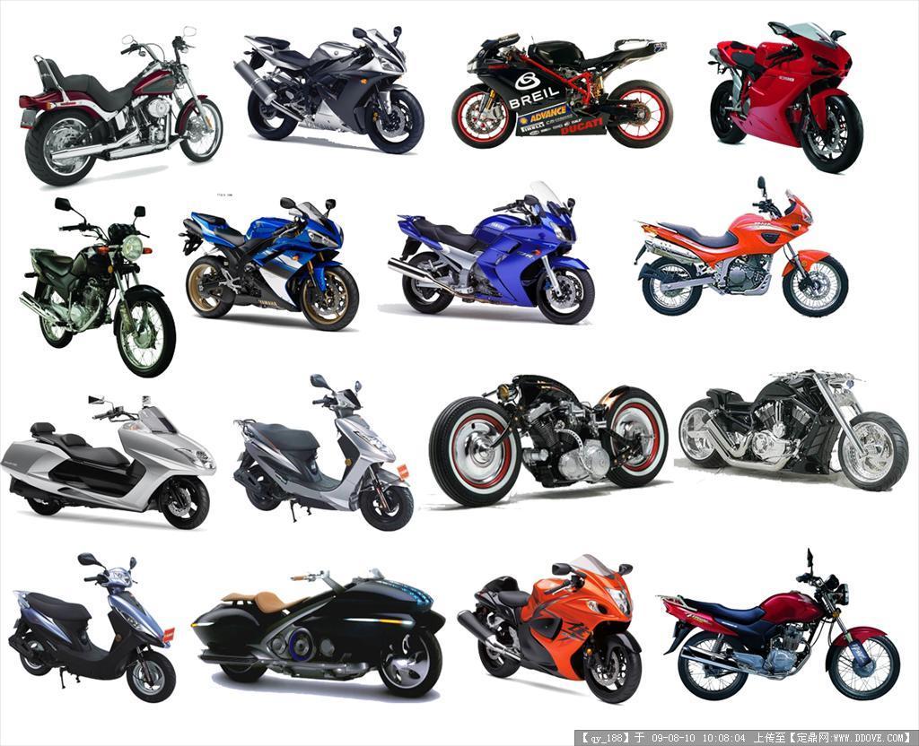 世界顶级摩托车分层PSD素材01(PSD layered