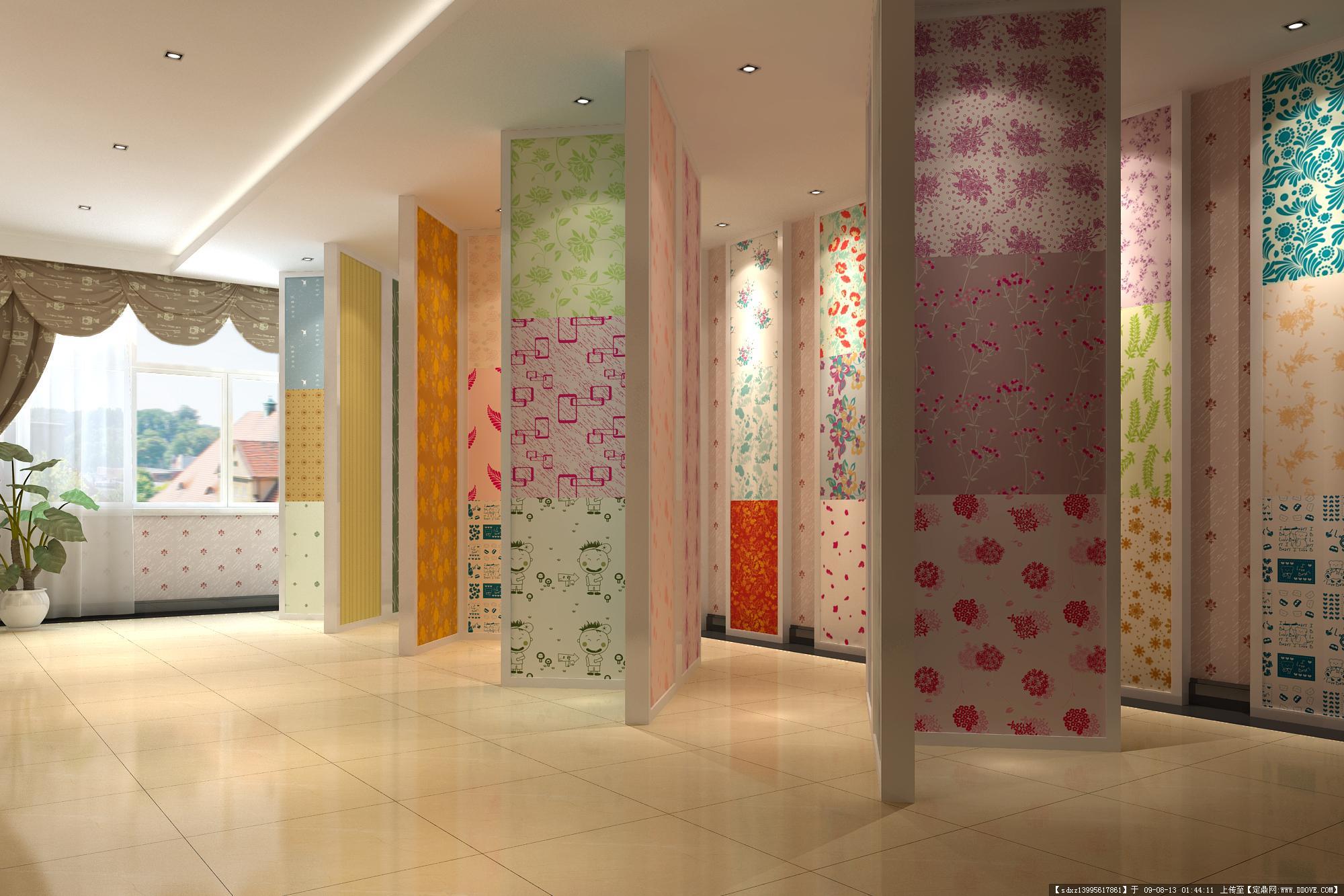 帝七秀墙纸店-室内空间墙纸运用效果美图