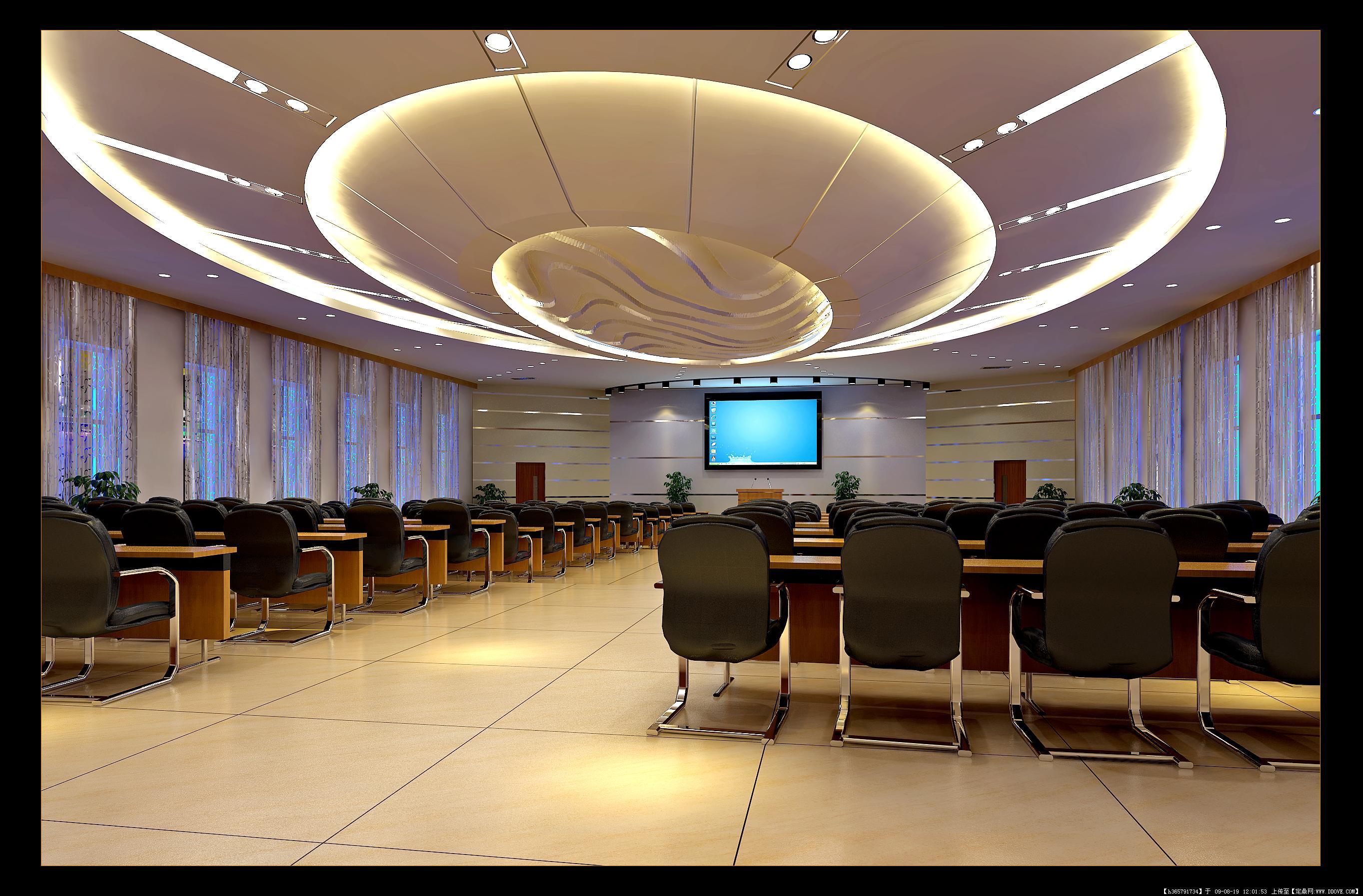 报告厅室内装饰效果图