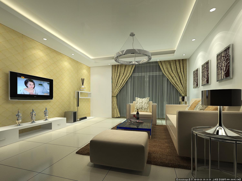 欧式简约风格室内装饰效果图
