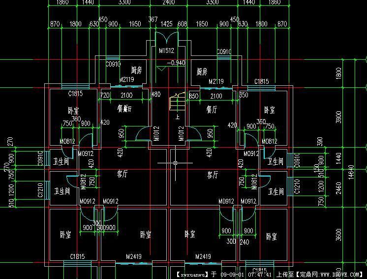 几种小户型平面图CAD