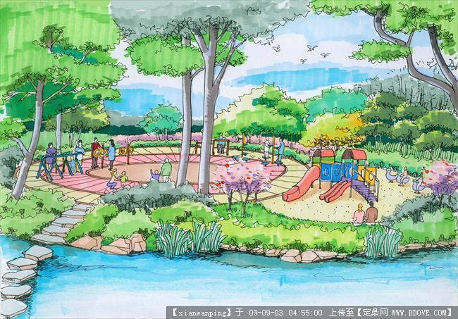 手绘效果图乐园