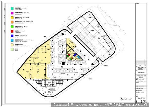 商业购物,建筑设计施工图纸资料下载_定鼎建筑; 世茂国际广场__新浪