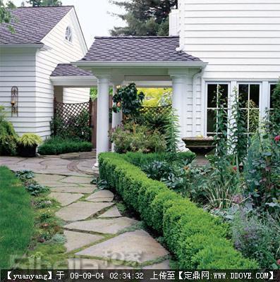 """3种材质让别墅花园地面""""格外""""出彩"""