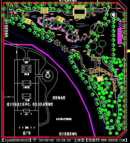 中式古典园林公园设计方案