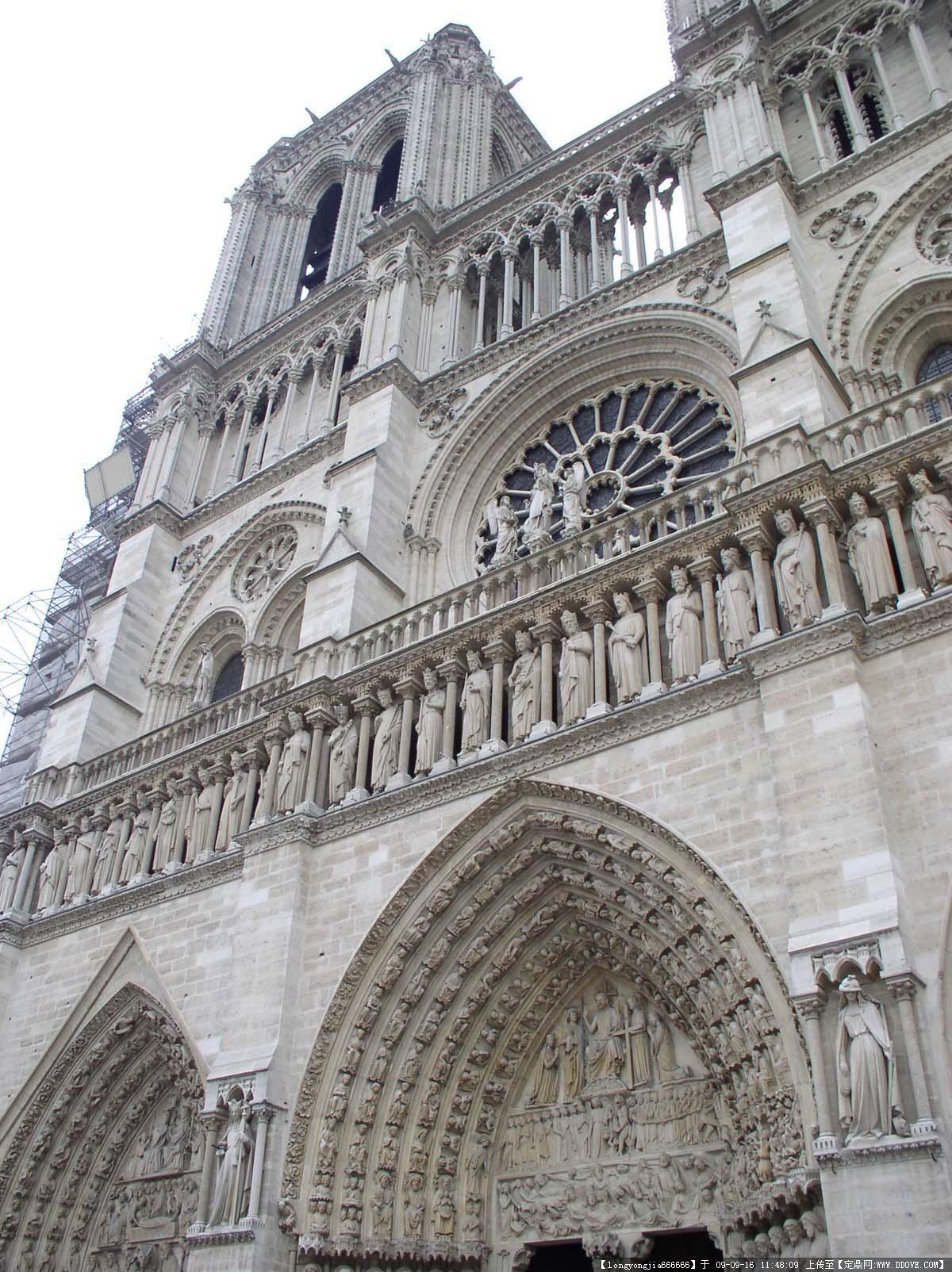 世界建筑--法国巴黎铁塔