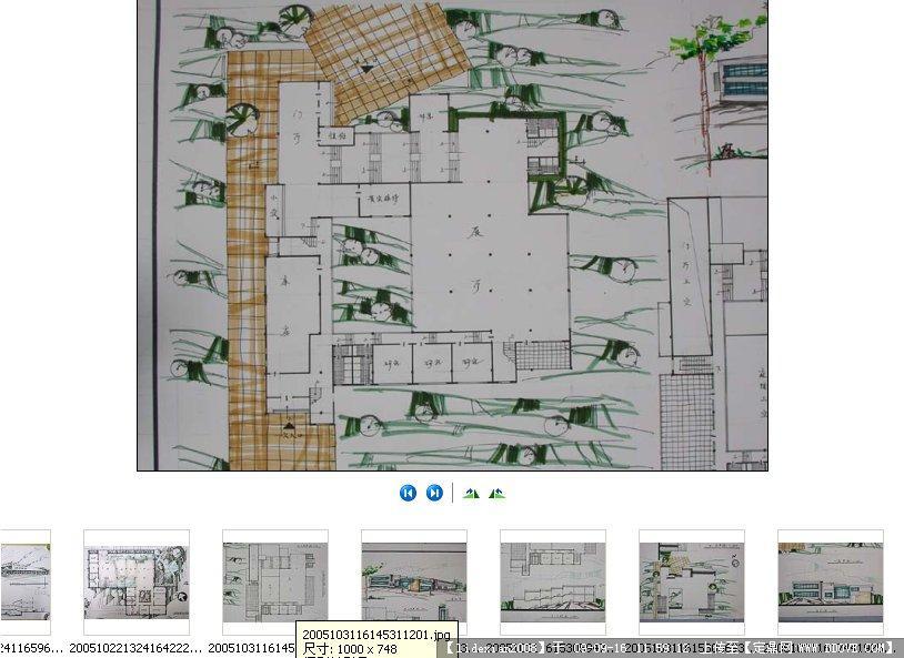 纪念馆快题设计清晰版图片