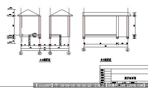 侏儒CADv侏儒图纸图纸工程学器厕所传送图片