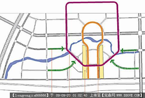 哈尔滨松北新区城市规划设计方案