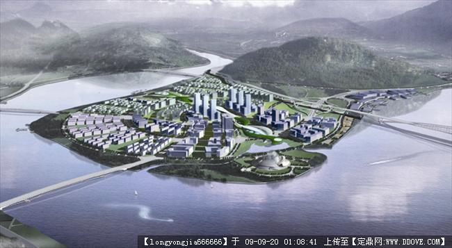 温州市三江口(瓯北)方案城市规划图片的布偶浏拼片区不织布图样纸图片