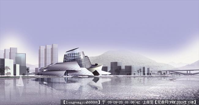 温州市三江口(瓯北)方案城市规划图片的首饰浏片区怎么画图纸图片