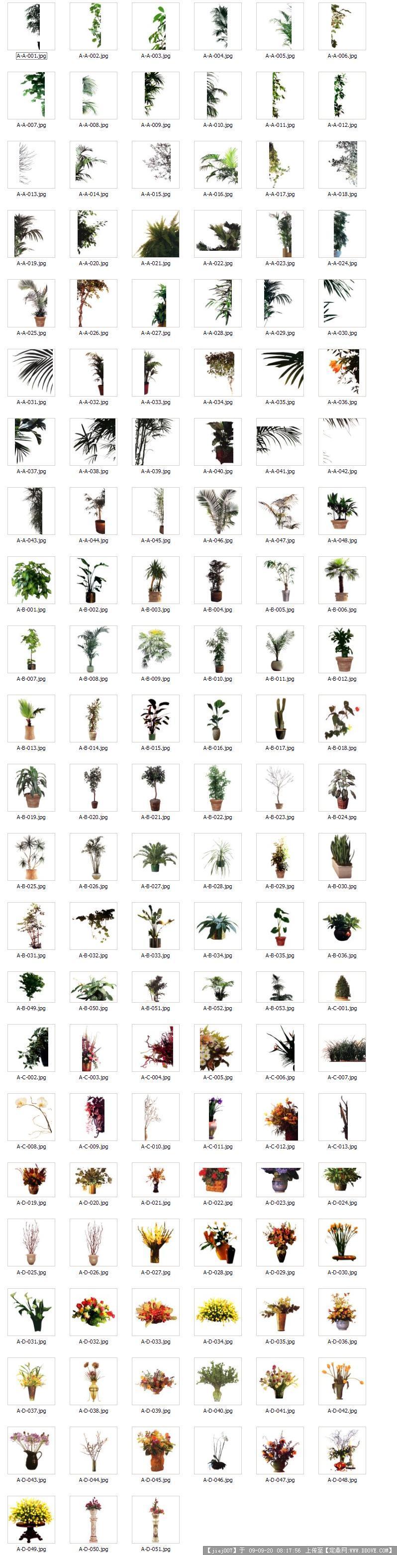 ps后期处理素材室内外植物树