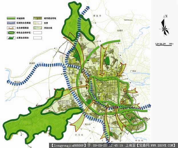 佛山市城市绿地系统规划方案jpg格式的图片浏览,园林