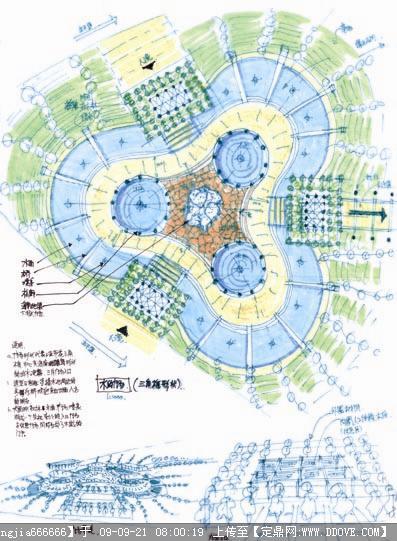 三亚凤凰国际水城----经典手绘案例
