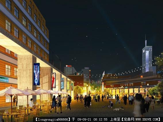 沈阳太原街区景观规划手绘方案