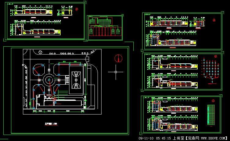 教学楼电气设计图图片