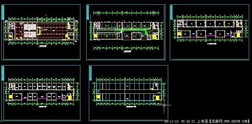 教学综合楼照明平面图