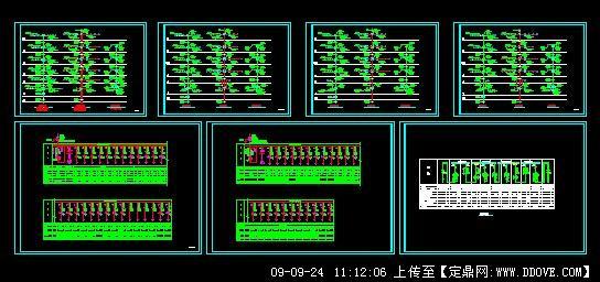某小区高层住宅高低压配电系统图