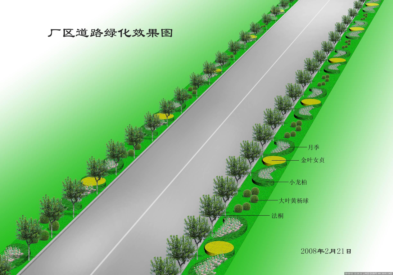 平面图绿化素材