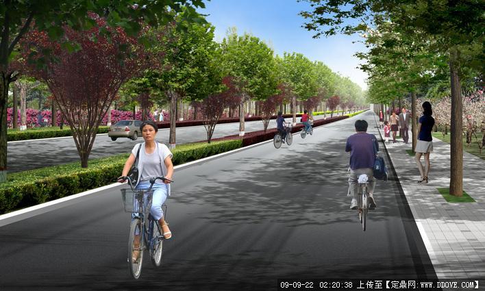 道路景观绿化效果图的下载地址