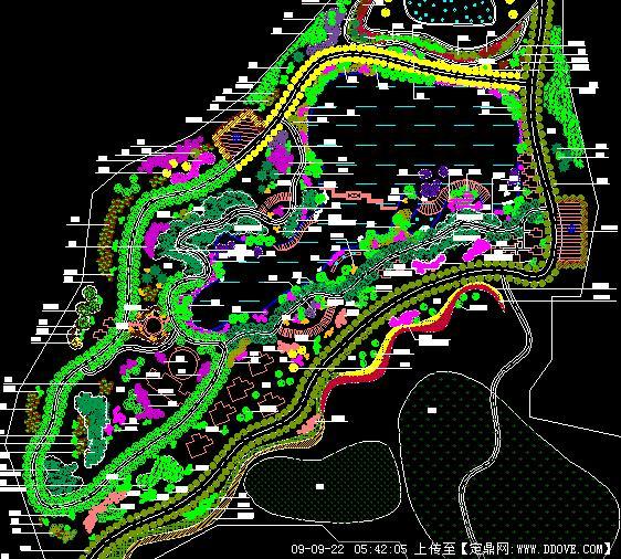 风景区绿化景观设计方案图纸的下载地址,园林方案设计