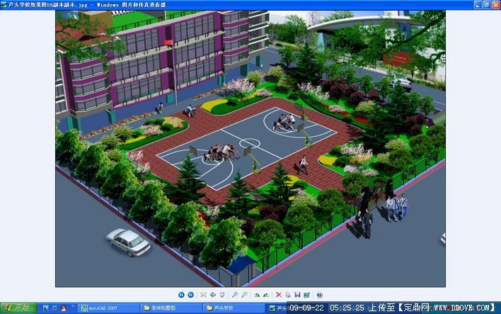 学校绿化平面图