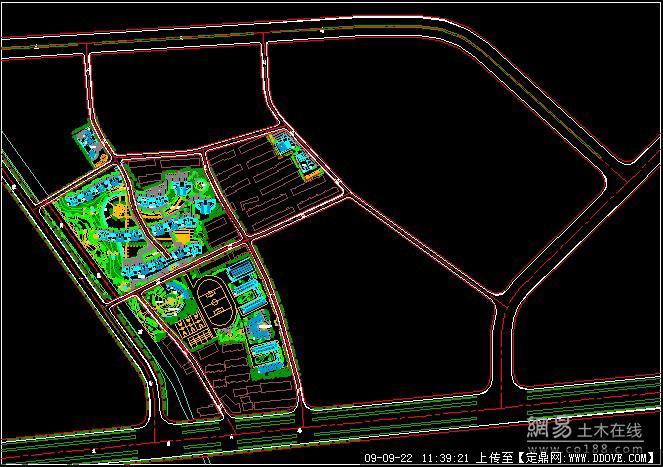 园林规划设计CAD平面图的图纸谁有啊