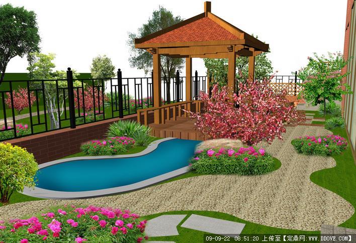 私家庭院花园景观设计方案的下载地址