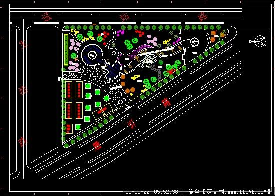 园林方案设计 街头绿地