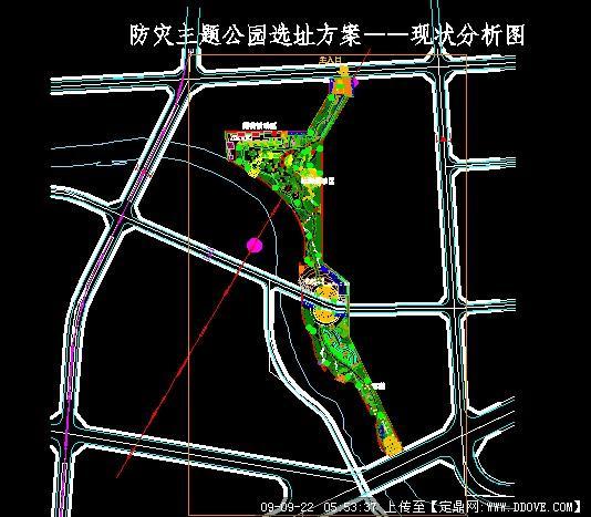 防灾主题滨河公园景观规划方案设计
