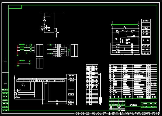 箱变配电设计图纸