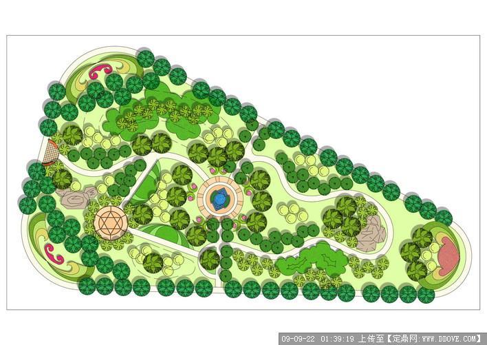 绿地节点的下载地址,园林方案设计,公园景观,园林景观
