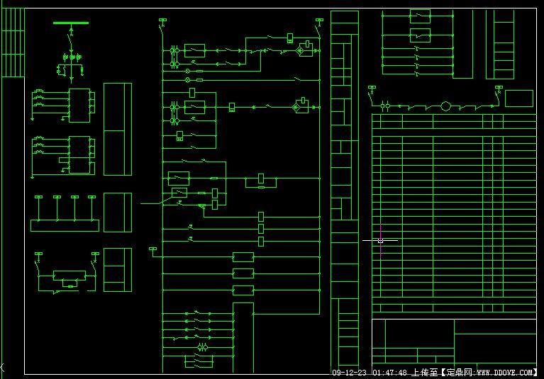 油浸式变压器原理图_油浸式动力变压器馈线柜原理图