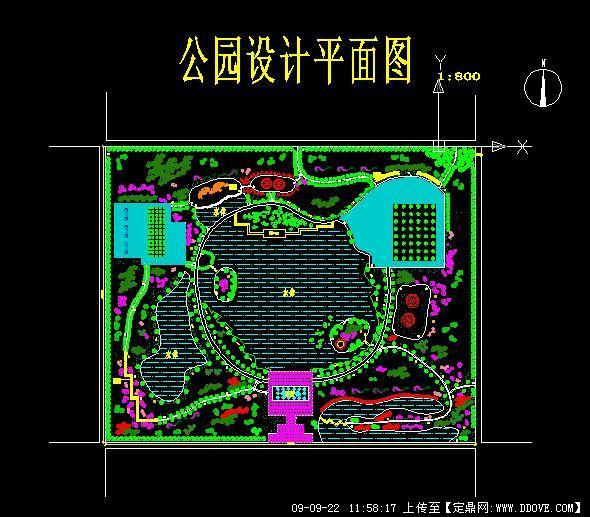 生态公园平面图