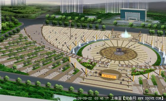 定鼎网 定鼎园林 园林方案设计 公园景观 休闲广场  序号 文件名