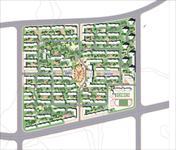 效果图 畅享/大连某住宅小区景观方案总平面图...