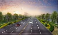 效果图 景观/道路景观绿化设计效果图