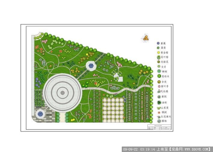 定鼎园林 园林方案设计 公园景观  资料说明:  新乡市最大公园的平面