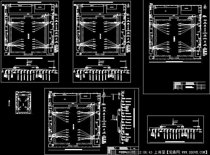 厂房临时用电平面图