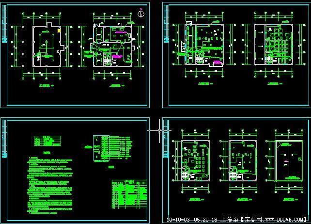 饲料厂房电气照明设计图的下载地址