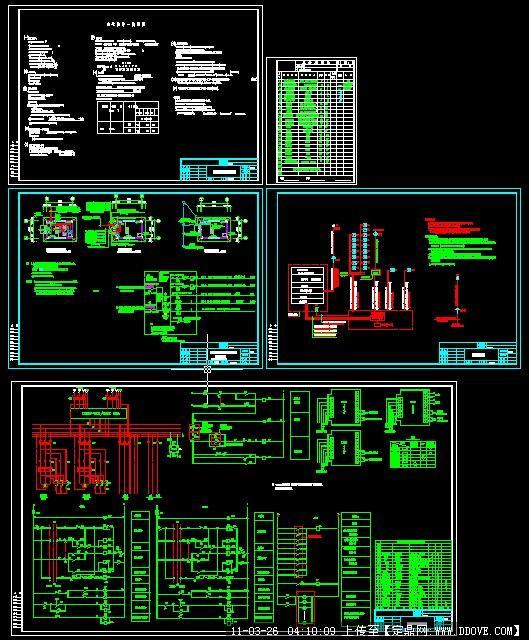 消防水泵房电气图
