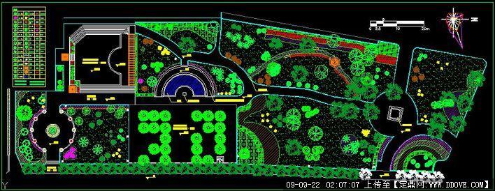 校园景观绿化