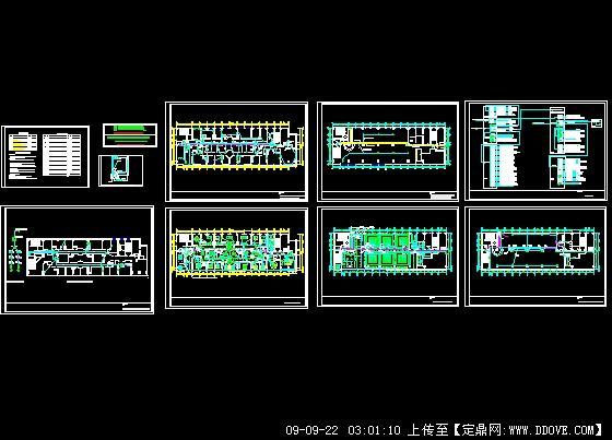 岳阳某餐厅装饰电路图