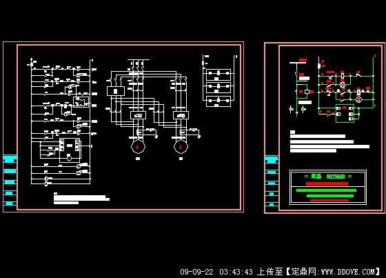 软启动控制原理图的下载地址,电气原理,设备控制图