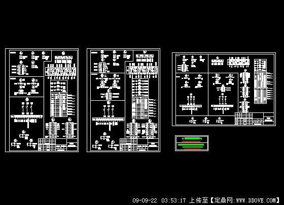 双电源及油机自动配电接线图